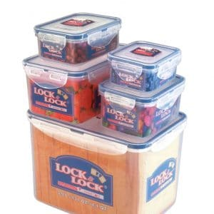 5-teiliges Lock & Lock Boxenset HPL829SB